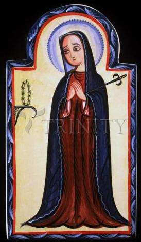 Giclée Print - Mater Dolorosa - Mother of Sorrows by A. Olivas