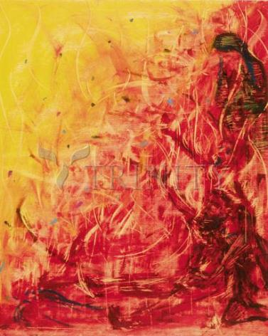 Giclée Print - Figures In Flames by B. Gilroy
