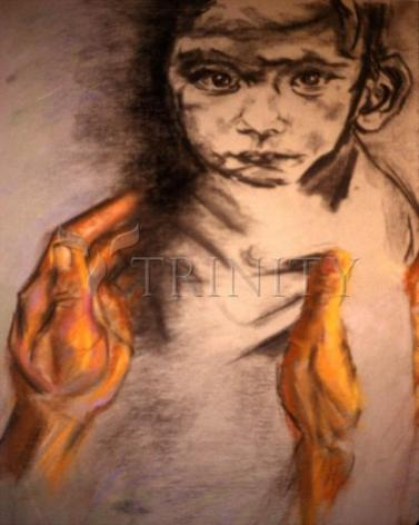 Giclée Print - What Child is This? by B. Gilroy
