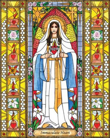 Giclée Print - Immaculate Heart of Mary by B. Nippert