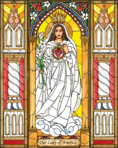 Giclée Print - Our Lady of America by B. Nippert