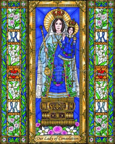 Giclée Print - Our Lady of Consolation by B. Nippert