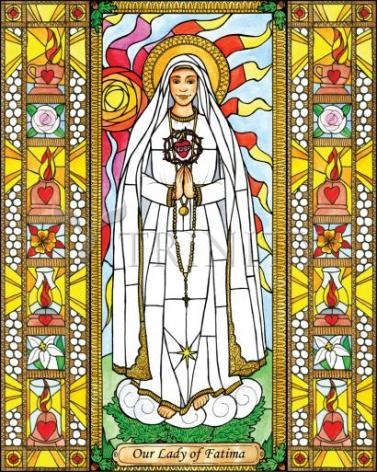 Giclée Print - Our Lady of Fatima by B. Nippert