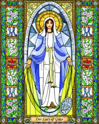 Giclée Print - Our Lady of Grace by B. Nippert