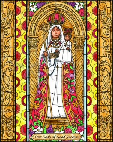 Giclée Print - Our Lady of Good Success by B. Nippert