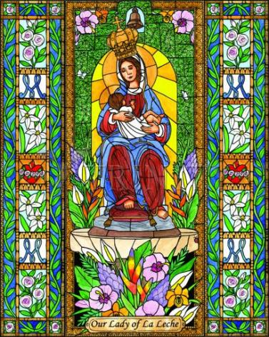 Giclée Print - Our Lady of the Milk by B. Nippert