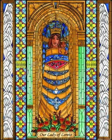 Giclée Print - Our Lady of Loreto by B. Nippert