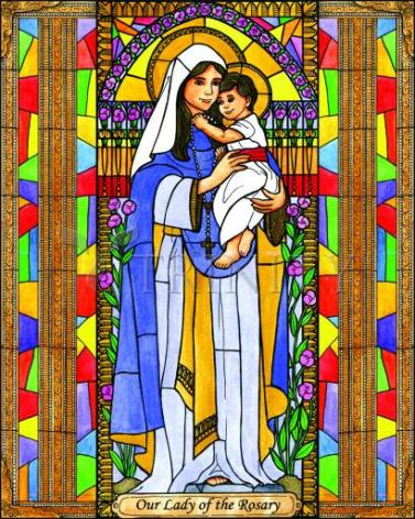 Giclée Print - Our Lady of the Rosary by B. Nippert