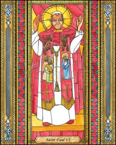 Giclée Print - St. Paul VI by B. Nippert