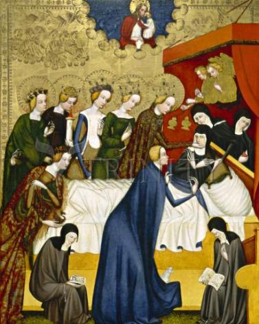 Giclée Print - Death of St. Clare of Assisi by Museum Art