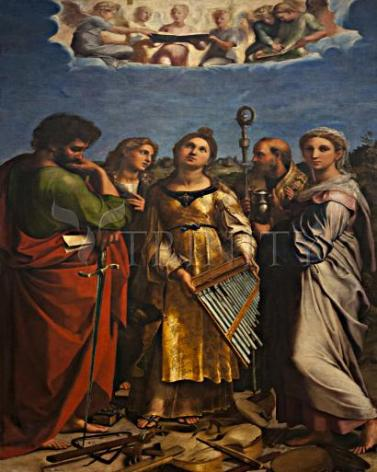 Giclée Print - Ecstasy of St. Cecilia by Museum Art