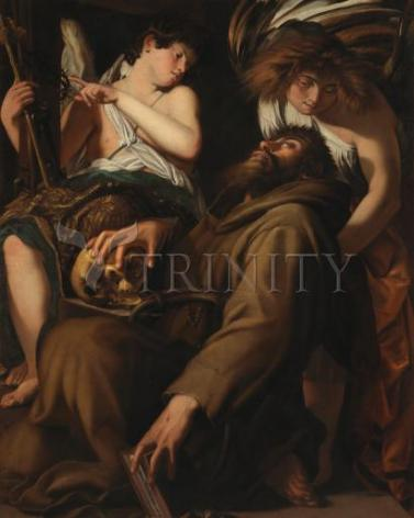 Giclée Print - Ecstasy of St. Francis of Assisi by Museum Art