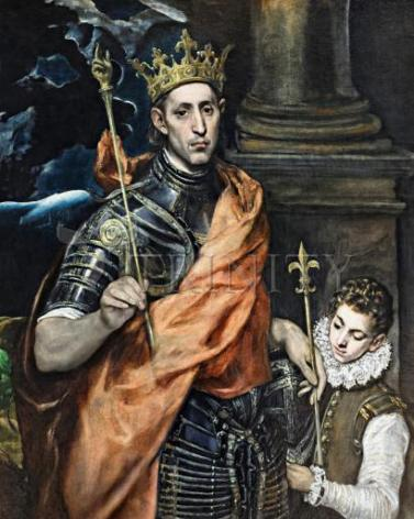 Giclée Print - St. Louis, King of France by Museum Art