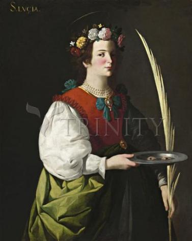 Giclée Print - St. Lucy by Museum Art