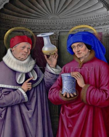 Giclée Print - Sts. Cosmas and Damian by Museum Art