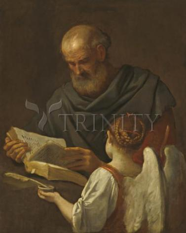 Giclée Print - St. Matthew and Angel by Museum Art
