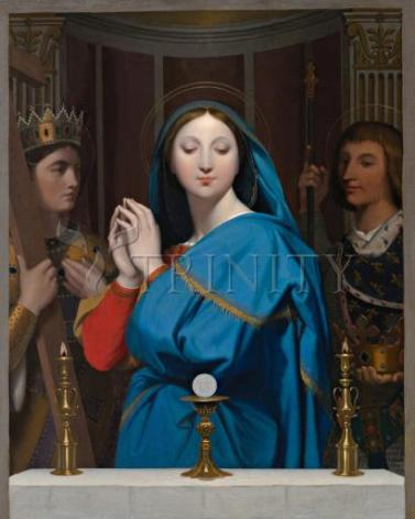 Giclée Print - Mary Adoring the Host by Museum Art