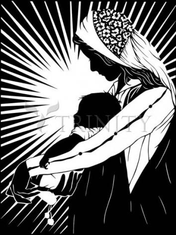 Giclée Print - Our Lady of the Light - ver.1 by D. Paulos