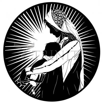 Giclée Print - Our Lady of the Light - ver.2 by D. Paulos