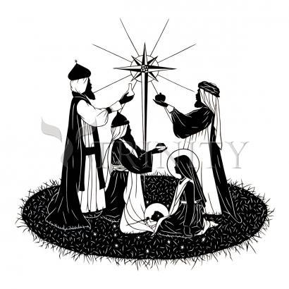 Giclée Print - We Three Kings by D. Paulos
