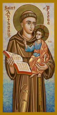 Giclée Print - St. Anthony of Padua by J. Cole