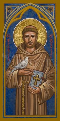 Giclée Print - St. Francis of Assisi by J. Cole