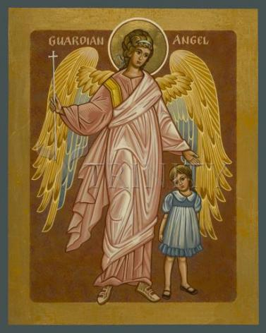 Giclée Print - Guardian Angel with Girl by J. Cole