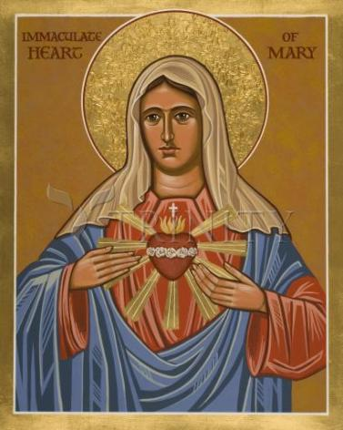 Giclée Print - Immaculate Heart of Mary by J. Cole