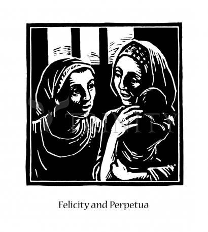 Giclée Print - Sts. Felicity and Perpetua by J. Lonneman