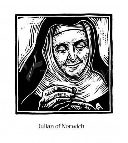 Giclée Print - Julian of Norwich by J. Lonneman