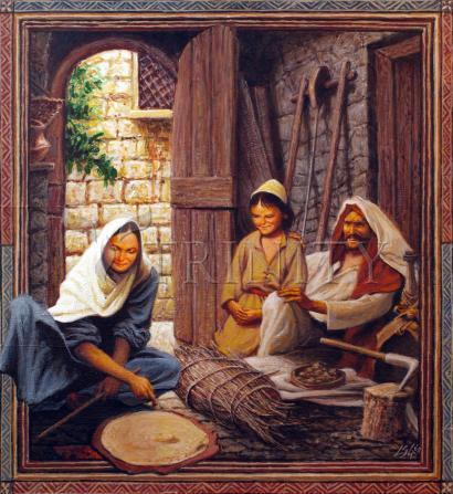 Giclée Print - Holy Family by L. Glanzman