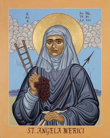 Giclée Print - St. Angela Merici by L. Williams
