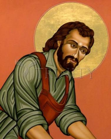 Giclée Print - St. Joseph the Worker by L. Williams