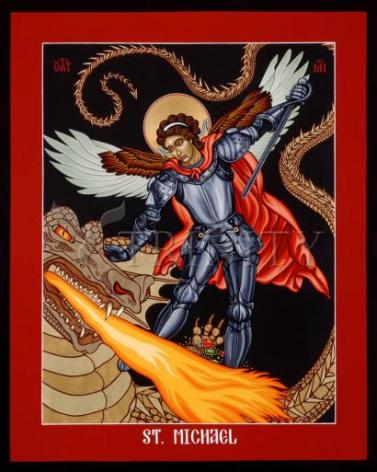 Giclée Print - St. Michael Archangel by L. Williams