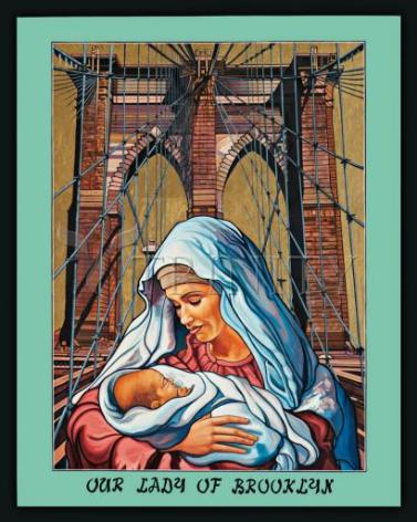 Giclée Print - Our Lady of Brooklyn by L. Williams