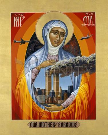 Giclée Print - Mater Dolorosa - Mother of Sorrows by L. Williams