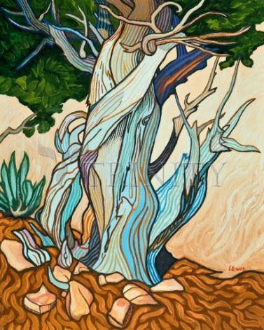 Giclée Print - Slept Under A Juniper by L. Williams