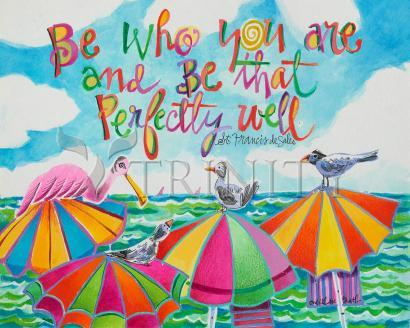 Giclée Print - Be Who You Are by M. McGrath