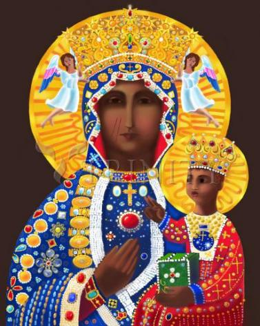 Giclée Print - Our Lady of Czestochowa by M. McGrath