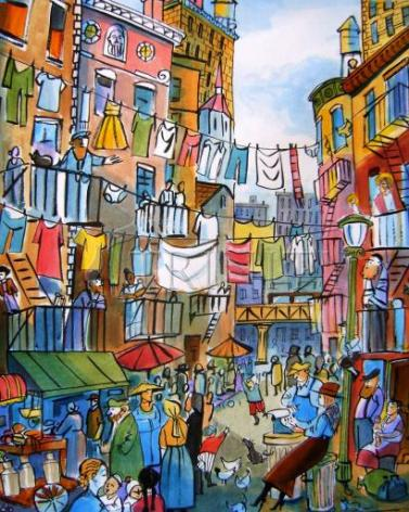 Giclée Print - Dorothy Day Lower Eastside by M. McGrath
