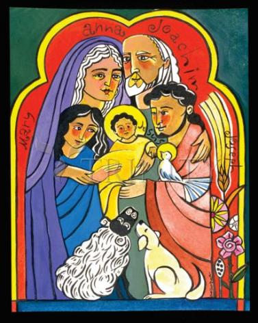 Giclée Print - Extended Holy Family by M. McGrath