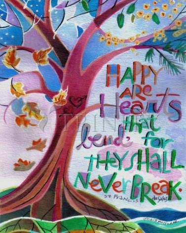 Giclée Print - Happy Are Hearts That Bend by M. McGrath