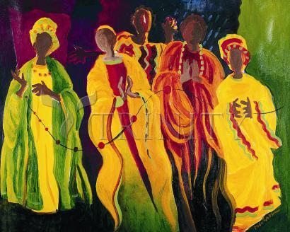 Giclée Print - Sr. Thea Bowman: I'll Be Singing Up There by M. McGrath