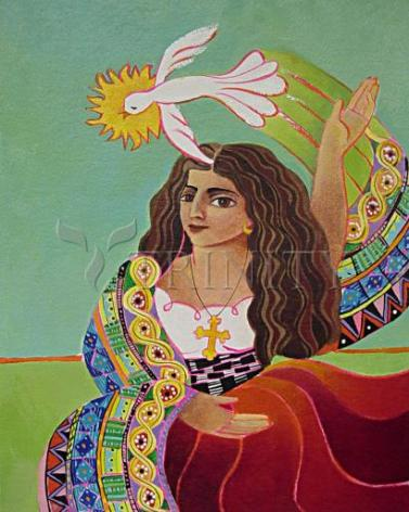Giclée Print - St. Mary Magdalene and Holy Spirit by M. McGrath