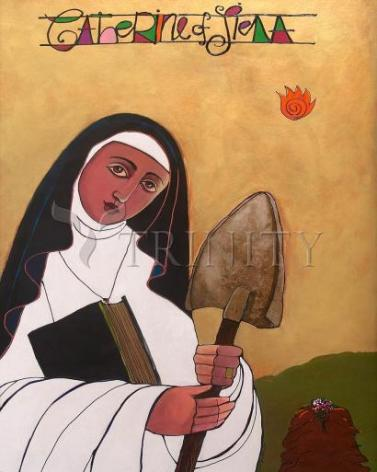 Giclée Print - St. Catherine of Siena by M. McGrath