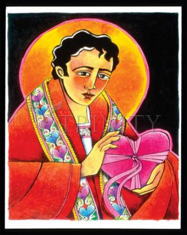 Giclée Print - St. Valentine by M. McGrath