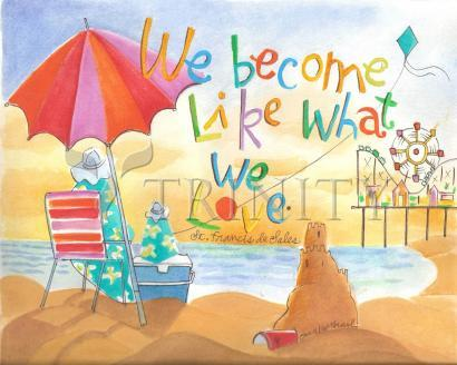 Giclée Print - We Become What We Love by M. McGrath
