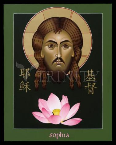 Giclée Print - Christ Sophia: The Word of God by M. Reyes