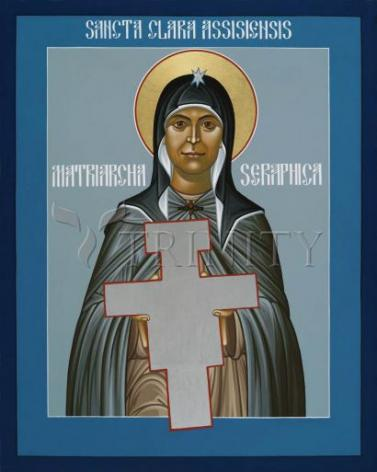 Giclée Print - St. Clare of Assisi: Seraphic Matriarch by R. Lentz