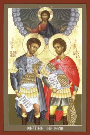 Giclée Print - Jonathan and David by R. Lentz